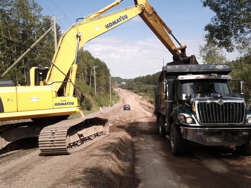 Réfection et rehaussement de la  route 381 Inter-Projet   Entrepreneur en Construction   Bâtiment et Génie civil